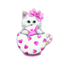 (02)35*35cm DIY Diamond Painting Embroidery Cute Cat Cartoon Animal Cat ... - $20.00
