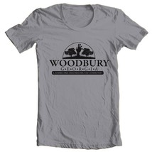 The Walking Dead Woodbury T shirt Zombie horror tv show 100% cotton graphic tee image 2