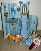 2004 Mattel Disney Cinderella & Prince Charming Enchanted Evening Castle  - $69.30