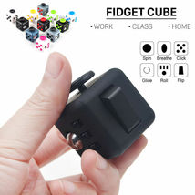 Magic Fidget Cube Anxiety Stress Relief - One Item w/Random Color and Design image 4