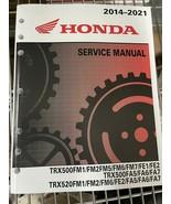 2019 2020 2021 honda trx500fm1/fe1/fm2/fe2 Service Repair Shop Manual - $148.43