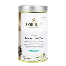 Teamonk Koge Nilgiri Jasmine Green Tea Loose Leaf (100 Cups) | Tea for Relaxatio - $25.99