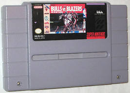 Bulls Vs.Blazers And The NBA Berretto Super Nintendo, 1991 U.S.A - $7.17