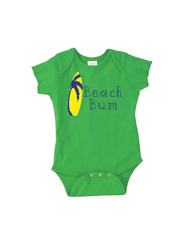 Beach Bum / Beach Baby Clothes / Beach Baby Gift / Beach Baby