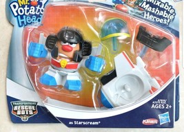 Mr. Potato Head Transformers Rescue Bots As Starscream New In Package Retired - $14.36