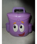 Dora The Explorer Talking Backpack Nick Jr Toy by Mattel  - $7.87