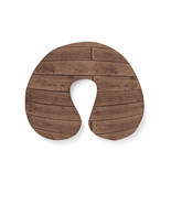 Reclaimed Floorboards Wood Pattern Travel Neck Pillow - $28.99 CAD+