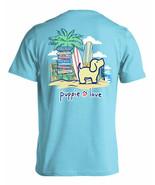 New PUPPIE LOVE Beach Sign Pup T SHIRT - $22.76+