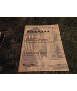 Various Choral Works With Piano Accompaniment Robert Schuman 6788 Kalmus... - $6.99