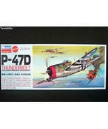Monogram 1/48 Republic P-47D Thunderbolt Model Airplane Kit 6838 1970 (M78) - $15.83