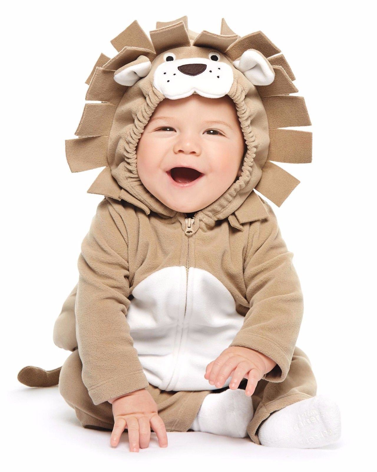 NEW NWT Carters Girls or Boys Lion Halloween Costume Size 12 Months