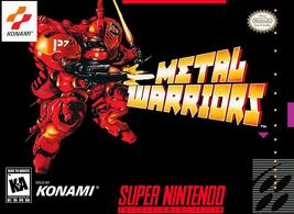 Metal Warriors (Super Nintendo, SNES) - Reproduction Video Game Cartridge with U - $39.99