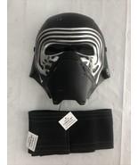 Kylo Ren Mask Child Star Wars The Force Awakens Halloween Costume Rubies... - £7.16 GBP