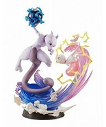G.E.M.EX series Pokemon Mew and Mewtwo about 190mm PVC-painted PVC Figure - $148.94