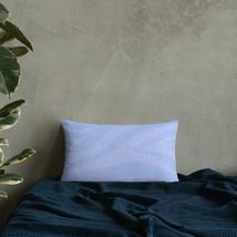 Blue Zebra Stripes Gone Wild Throw Pillow - $29.99+