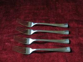 Cuisinart Geo SET OF 4 dinner forks glossy - $21.73