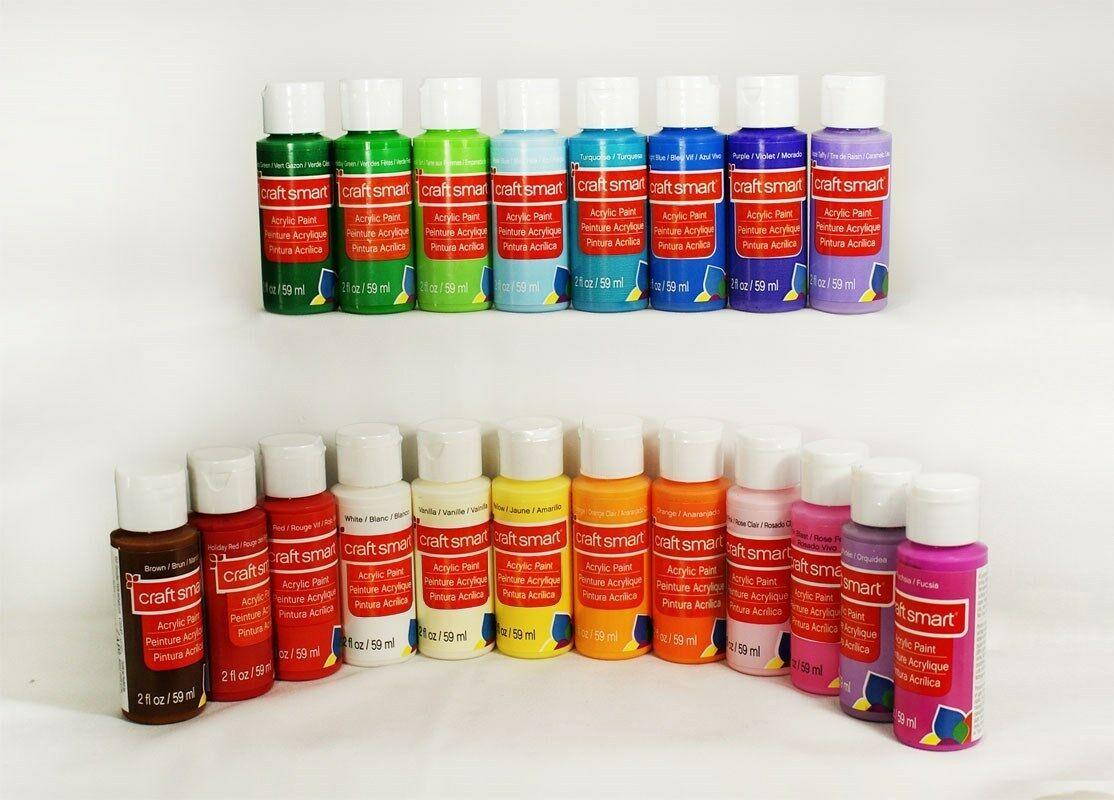 Craft Smart Delta Acrylic Paint 2 fl.oz. 1 bottle 40+ Colors Choices - $6.68 - $8.90