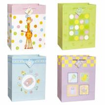 Little Dreamer Baby Shower Super Jumbo Glossy 3 pc Gift Bag Asst - $11.47