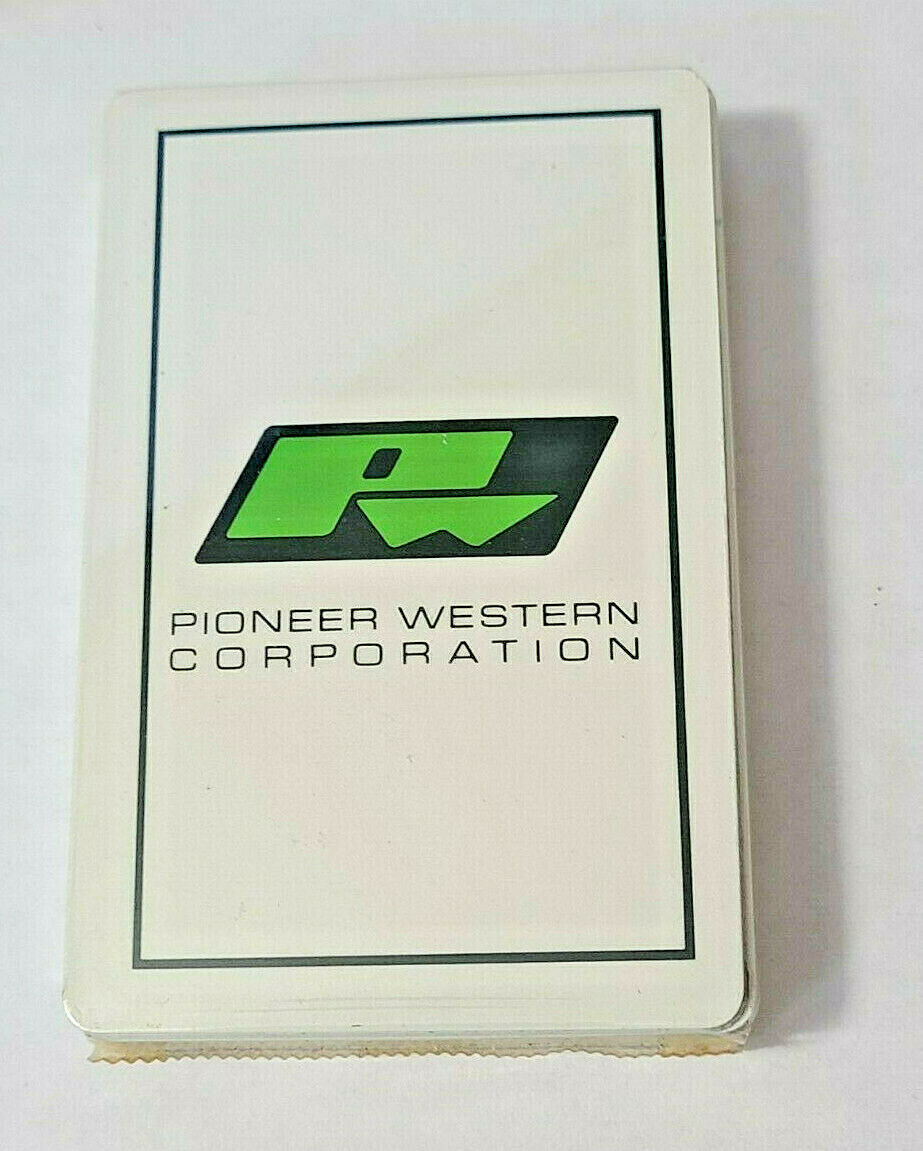 Pioneer Western Corporation Deck Playing Cards   (#23)
