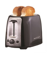 Brentwood  2 Slice Cool Touch Toaster ; Black and Stainless Steel - $40.20