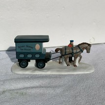 Dept 56 River Street Ice House Cart, Heritage Village Accessory Christma... - $33.95