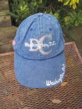 Ballcap Unisex Adult Adjustable WASHINGTON D.C. souvenir denim look  - €5,19 EUR
