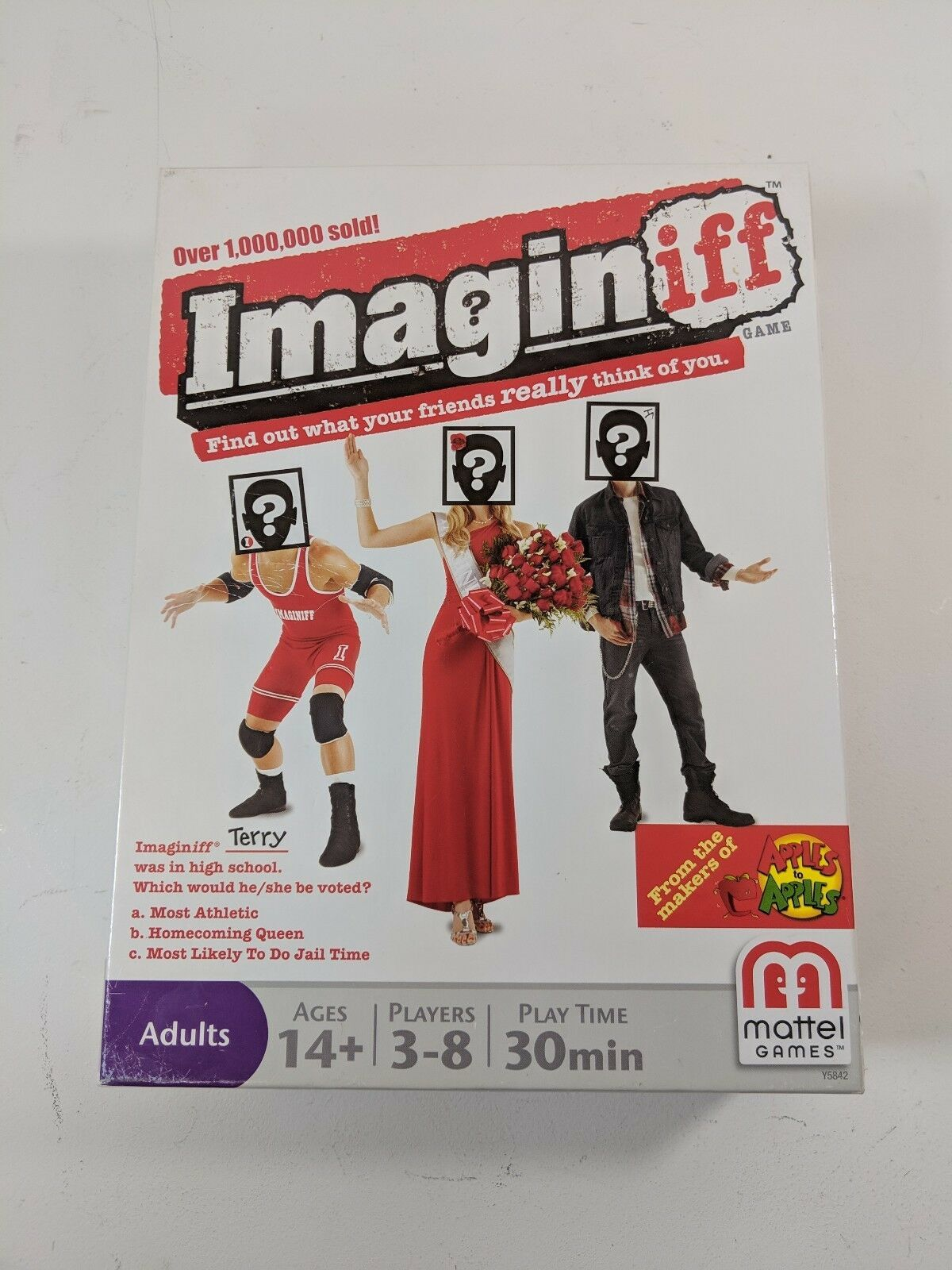Primary image for Imaginiff Board Game Ages 14+ 3-8 Players Play Time 30 Minutes (ws3)