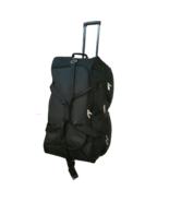 "Large  30"" Rolling Wheeled Duffel Bag Luggage Wheels Duffelbag Suitcase ... - $41.58"