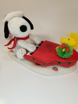 Hallmark Swingin' with Snoopy Plays Jazz Piano Christmas Musical Lights ... - $34.60