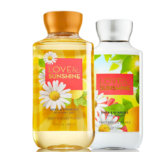BATH & BODY WORKS Love & Sunshine Body Lotion + Shower Gel Set - $25.63