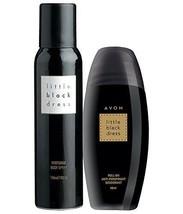 Avon Little Black Dress Body Spray 150ml +Little Black Dress Roll on 40m... - $19.95