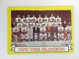 1973-74 Topps #101 New York Islanders Hockey Card NM Condition KV1 - $1.99