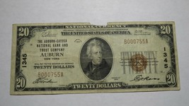 $20 1929 Auburn New York NY National Currency Bank Note Bill Charter #13... - $140.24