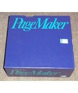 Aldus Adobe PageMaker Version 1.0 Vintage PC Desktop Publishing Software... - $64.95