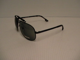 Diesel New Sunglasses mens DL0027 02A 63/11 gray lenses with leather case - $79.15