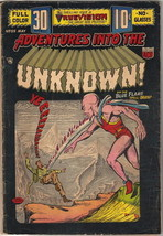 Adventures Into The Unknown Comic Book #55, ACG 3-D Effect 1954 VERY GOOD+ - $102.48