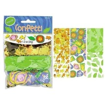 new JUNGLE ANIMALS CONFETTI big value pack Party Birthday Decoration lio... - $7.90