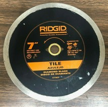 Ridgid 7 in. Continuous Diamond Blade, Tile CT70CP - $12.86