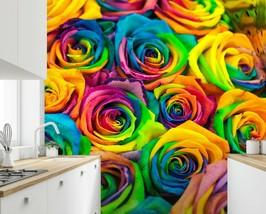 3D Color Rose PKE199 Business Wallpaper Wall Mural Self-adhesive Commerc... - $13.49+