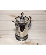 Rogers Smith Co Meriden Silverplate Insulated Ornate Tea Pitcher - $289.99