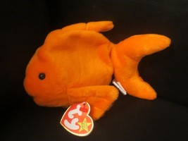 Ty Beanie Baby Goldie the Goldfish 4th Generation PVC Filled Canadian Do... - $11.57