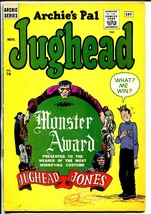 Archie's Pal Jughead #78 1961-Archie-Frankenstein-Dracula-Mummy-VG- - $63.05
