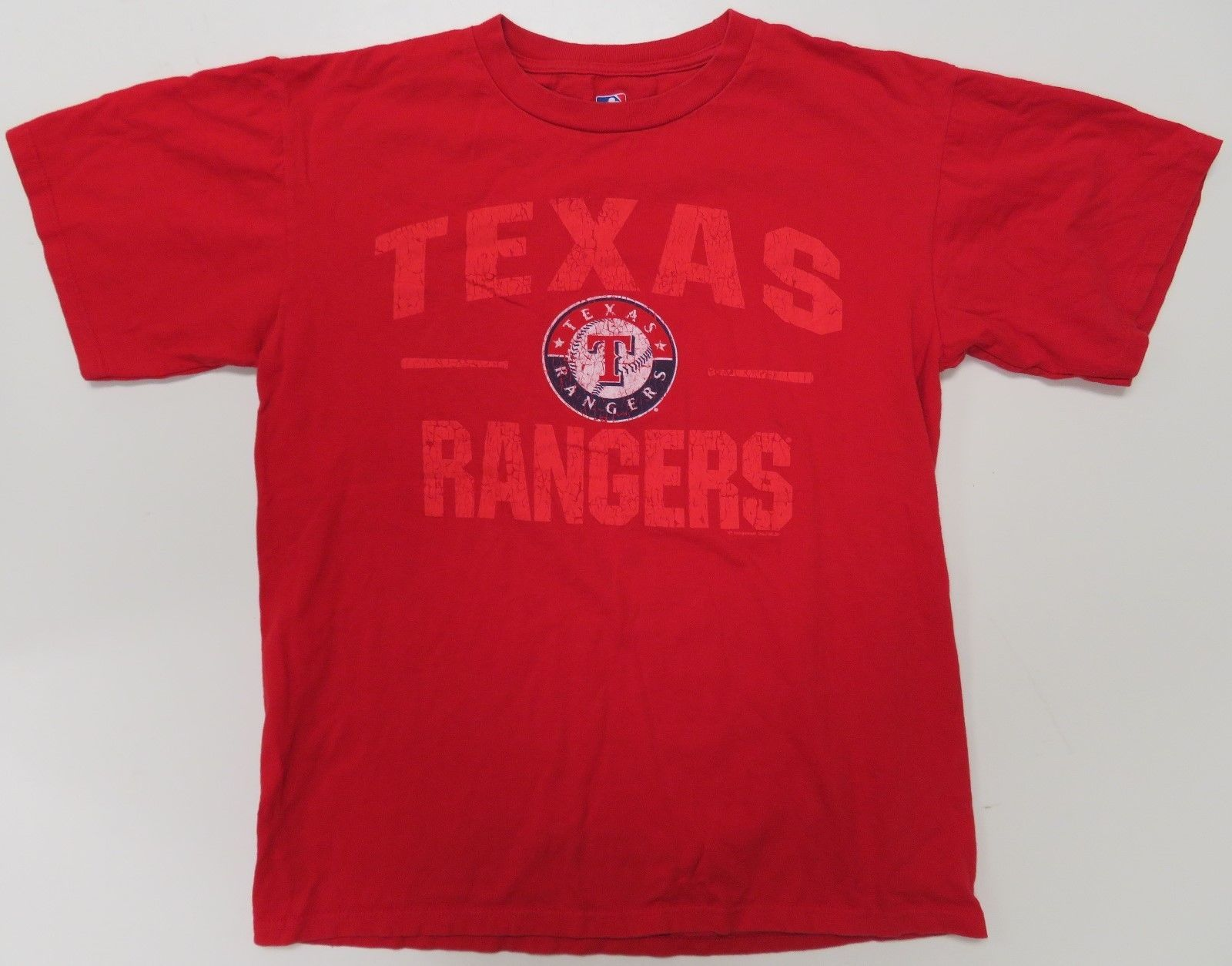 ad79f8c1 Texas Rangers Mens T-Shirt Red Medium MLB and 50 similar items