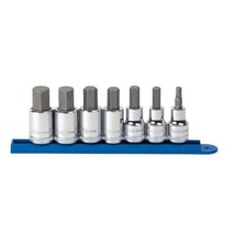 1/2 in. Drive Metric Hex Bit Socket Set (7-Piece) - $59.12