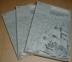 English and Virginian Settlers Phillimore Genealogy 3 Vol Set 1969 Histo... - $167.31