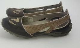 Merrell Oceania Brown Vibram Tread Slip on Athletic Barefoot Flats Womens Sz 6.5 - $19.79