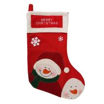 (as show)Christmas Stocking New Year Party Decorations Christmas Gift Ca... - $20.00