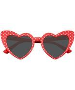 Occhiali da Sole Cuore a Pois Occhio di Gatto Moda Donna Mod Super Cat F... - $11.16