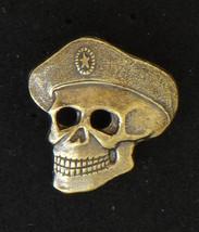 Russian Special Forces Beret Badge SKULL Headgear Military Insignia Pin badge - $11.90