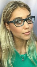 New Ray-Ban RB 5552 3552 53mm Blue Clear Women's Eyeglasses Frame  - $119.99